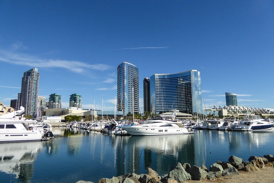 photo of the san diego harbor