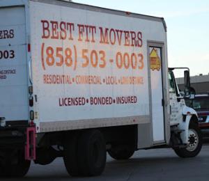 San Diego Interstate Moving Truck