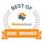 best of homeadvisor 2020 logo