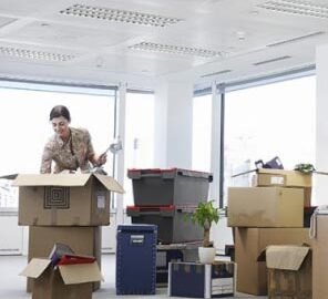 image of a San Diego office relocation move