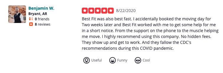 Reviews for movers in La Mesa