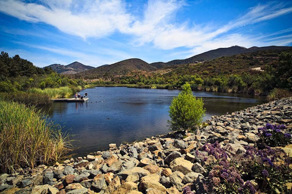 Discovery Lake in San Marcos. CA