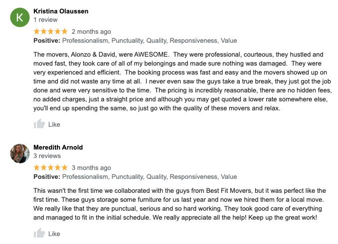 poway moving reviews