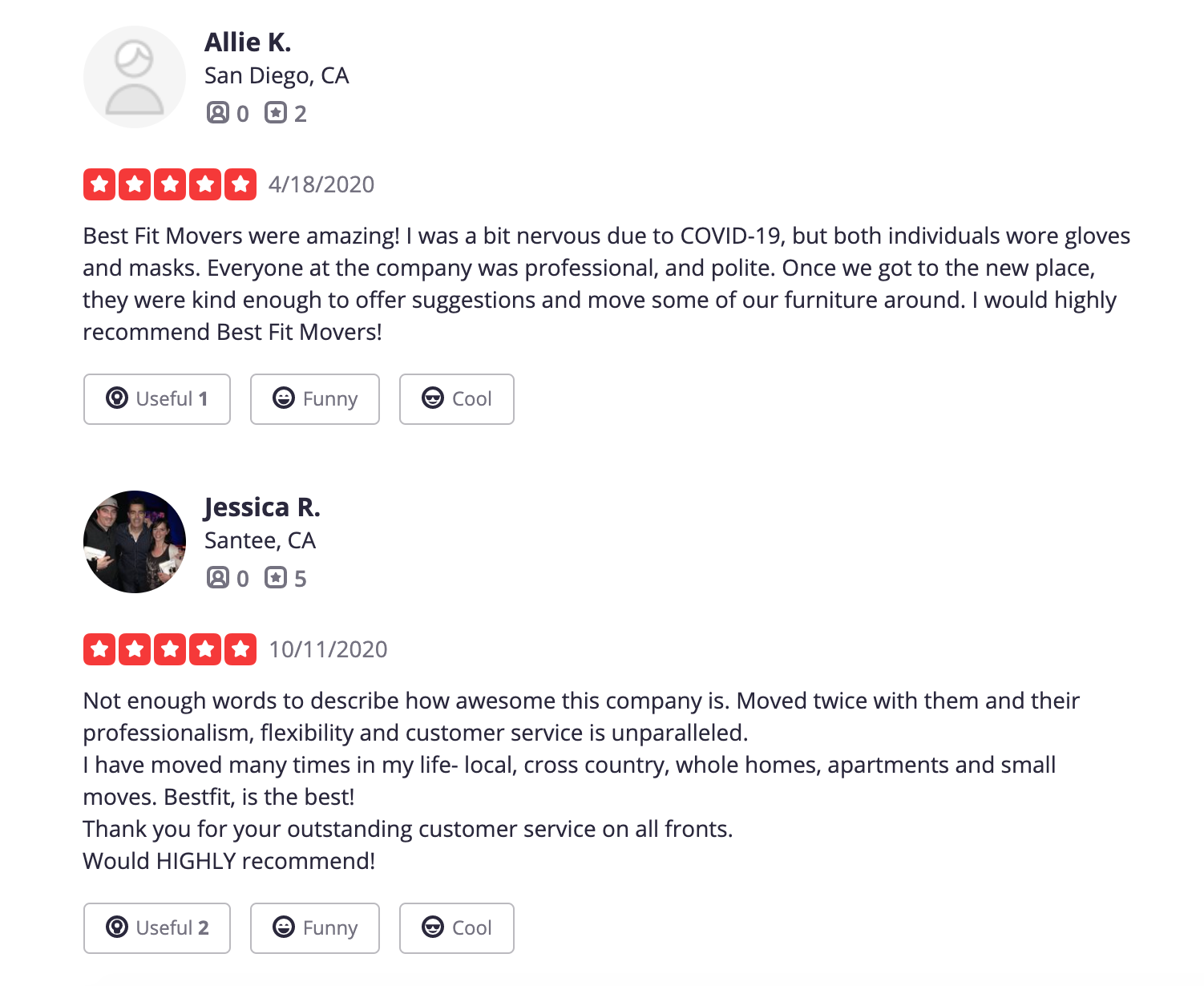 san diego moving reviews